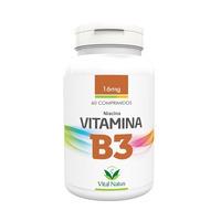 Vitamina B3 - Niacina 60 comprimidos 16mg - Vital Natus