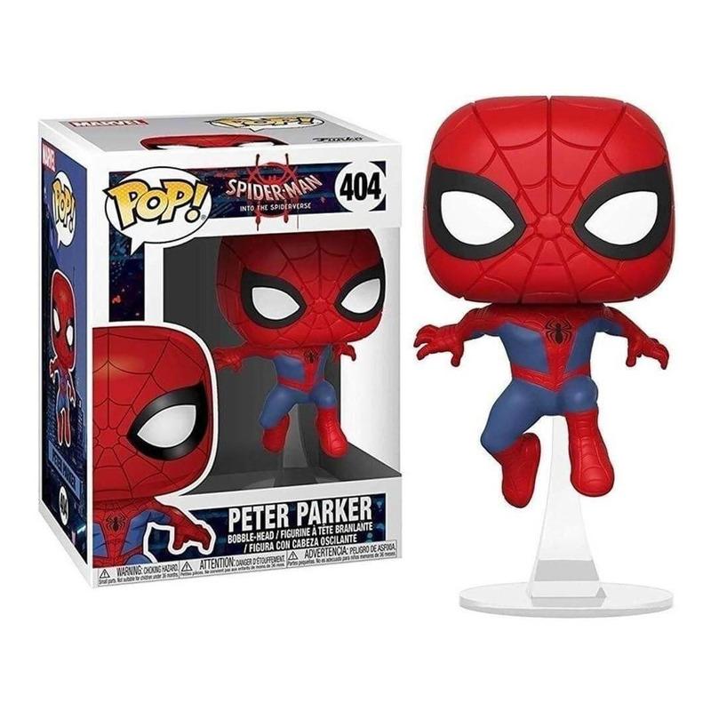 Peter Parker Into The Spider Verse Pop Funko #404  - Spider Man - Marvel