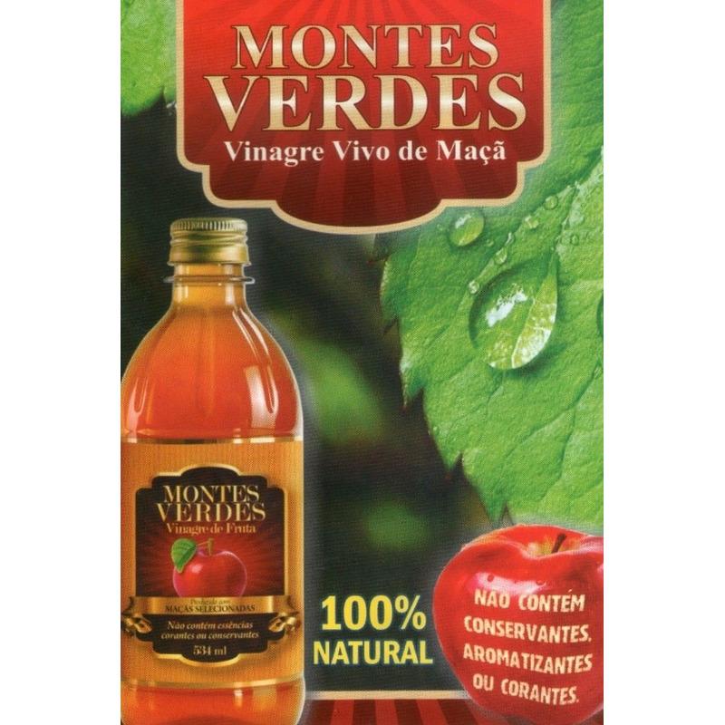 VINAGRE DE MACA MONTES VERDES 534ML