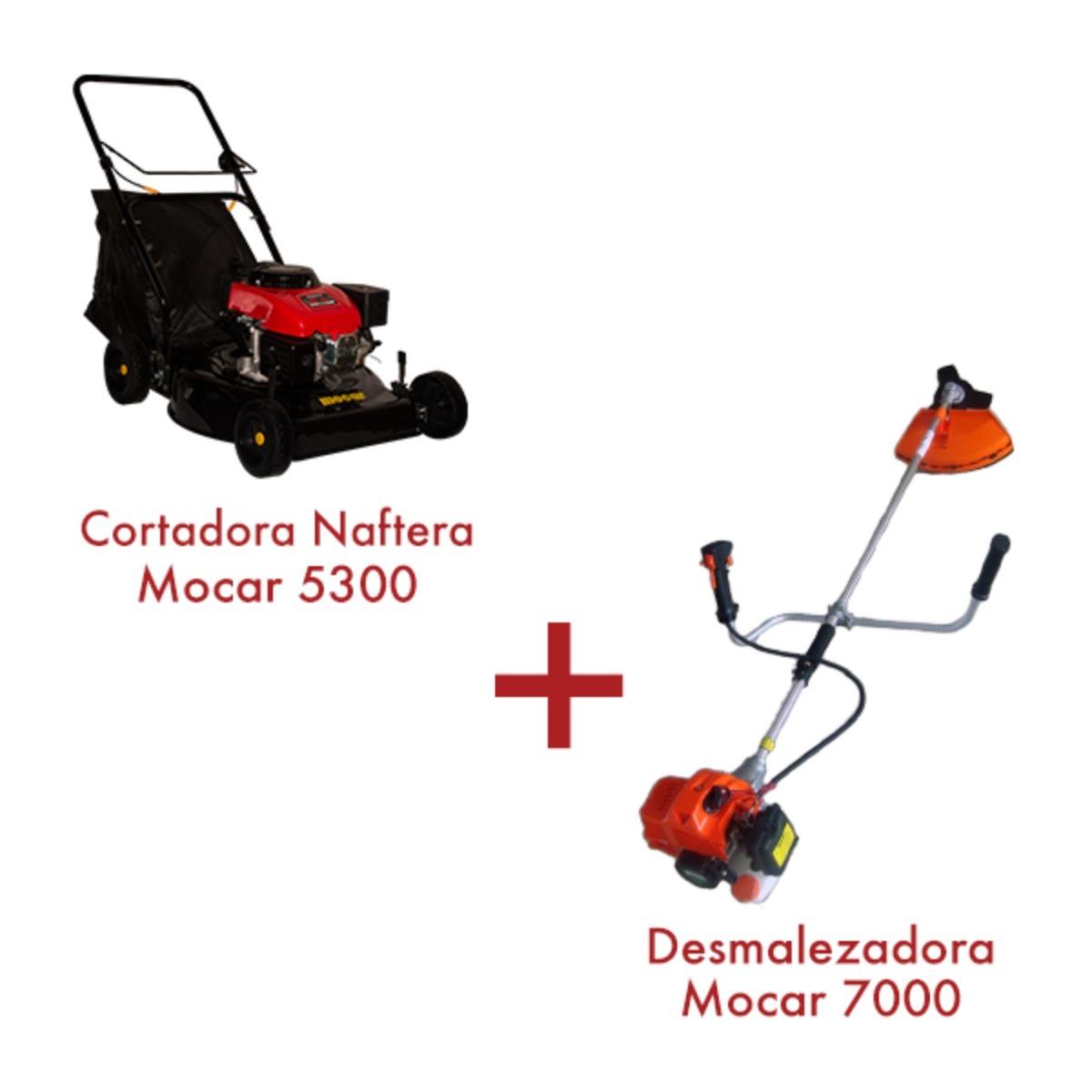 Cortadora Naftera 5 HP 5300 +  Desmalezadora 7000