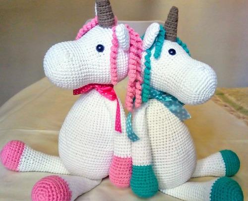 Juguetes de ganchillo Miss unicornio Miss, moda Móviles y ...   405x500
