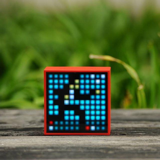 Parlante Bluetooth Mini Time Box Divoom Excelente Sonido