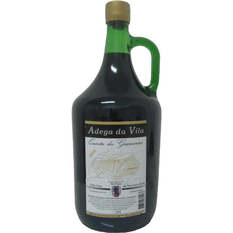 Vinho Tinto Seco Bordô 2 L - Adega da Vila