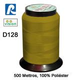 Linha Vision Dourada 100% Poliéster, 300m