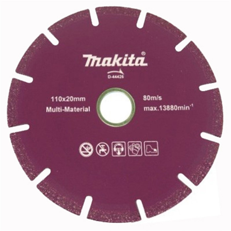 "Disco Diamantado 110mm (4.1/2"") Segmentado - Makita - D-44426"