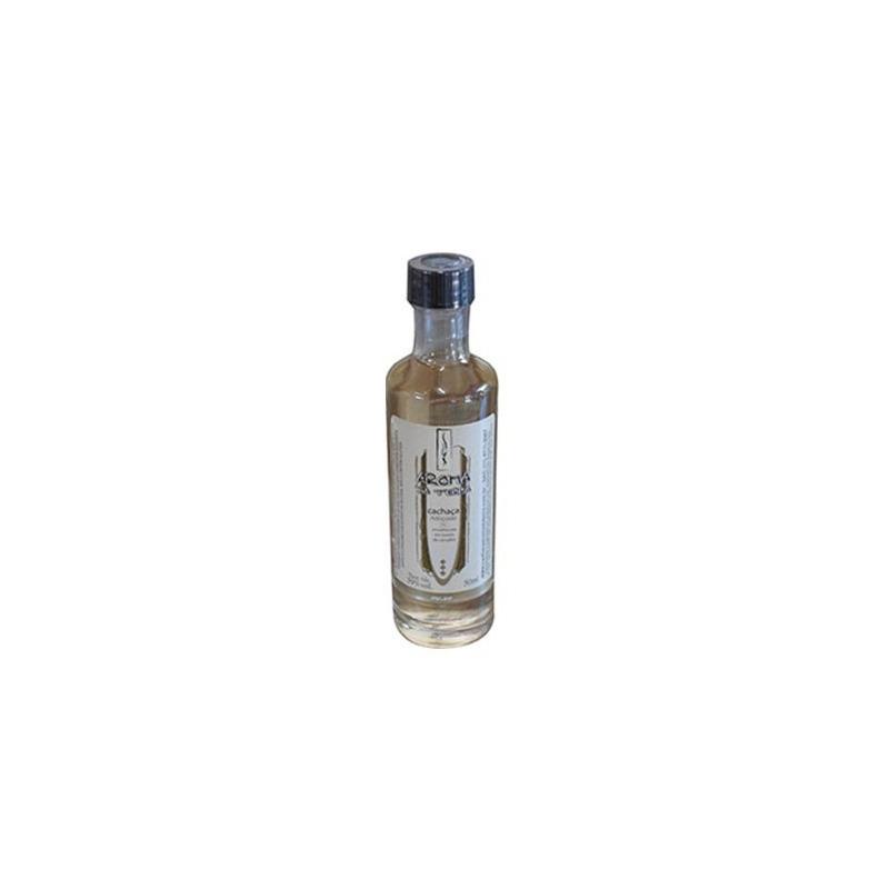 Miniatura Cachaça Envelhecida Aroma da Terra Ouro 50ml - Giullian's