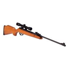 Rifle Aire Comprimido Crosman Optimus 5.5 + Mira Telescopica