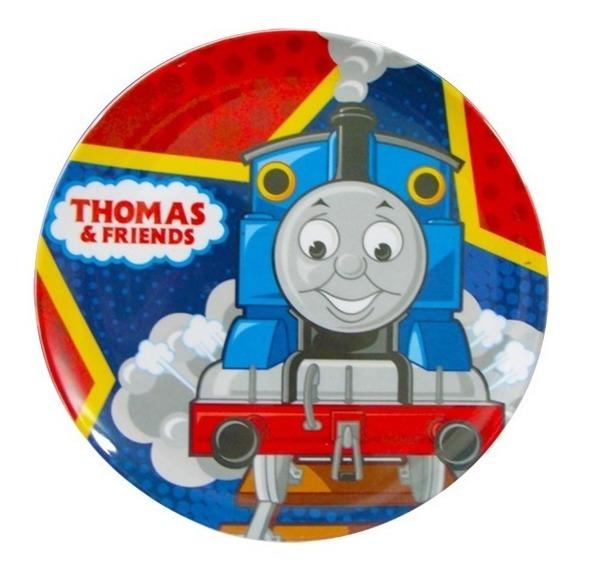 Plato Melamina Atoxico Infantil Toy Story  Thomas Princesas