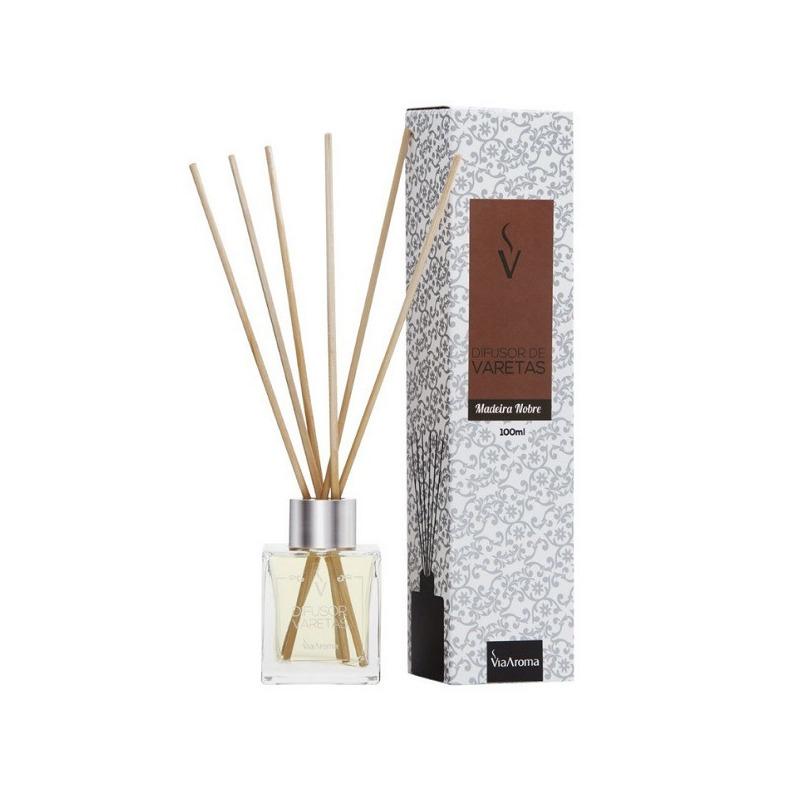 Stick Difusor Madeira Nobre - 100ml - Via Aroma