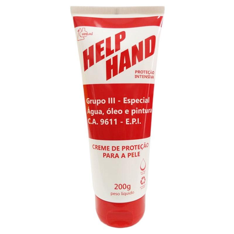 10 Creme de proteção para as mãos help hand grupo 3 200g
