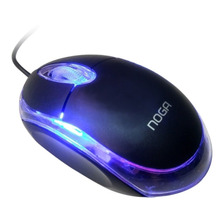 Mouse Usb Optico 800 Dpi Led Ng-611u Noga