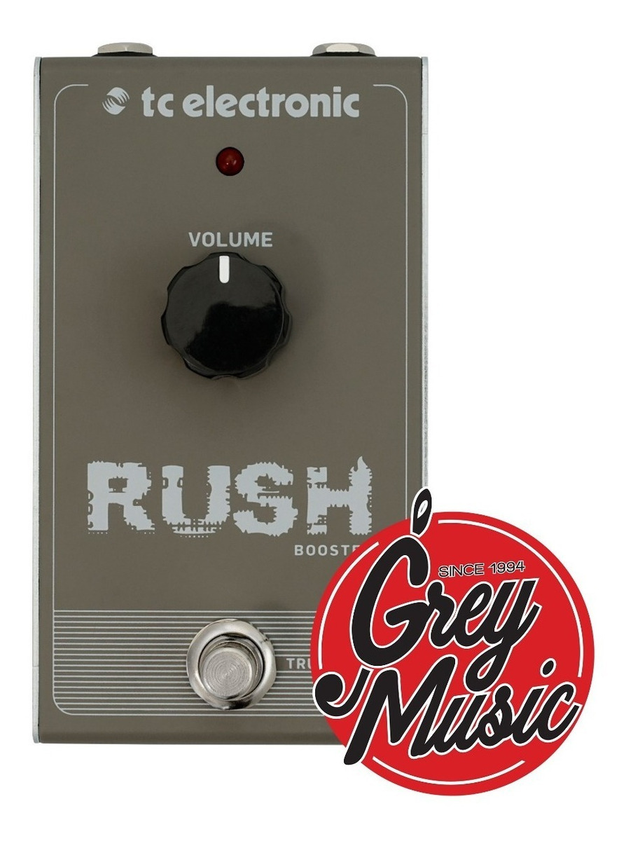 Pedal Tc Electronic Rush Booster - Grey Music -