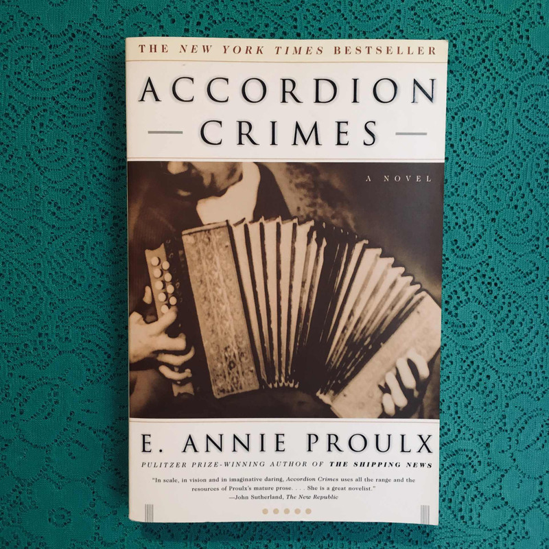 E. Annie Proulx. ACCORDION CRIMES.