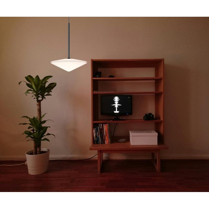 Lampara Colgante Kinez 1 Luz Led 12w Deco Moderno