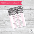 Invitación digital TD001D (Victoria's Secret)
