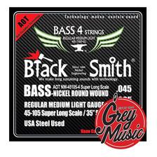 Encordado De Bajo Black Smith Nw-45105-4 35  4c 0.45