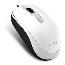Mouse Usb Optico 1000 Dpi 3 Botones Blanco Dx-120 Genius