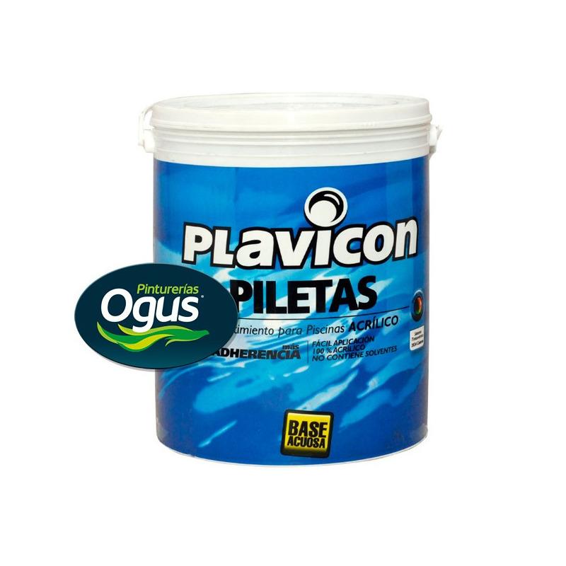 Plavicon Pileta Base Acuosa Premium  4 Lts OGUS