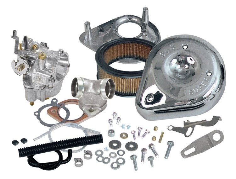 Kit Carburador S&s Super E 11-0419 47.6mm Harley 93 A 99