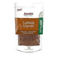 Semente de Linhaca Marrom Integral - 200g Jasmine