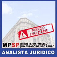 Curso Direito Administrativo Analista Jurídico MP SP 2018 - Pós-edital