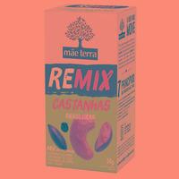 REMIX Castanhas (Para+Caju+Baru+Uva Passa) 2x25g - Mae Terra