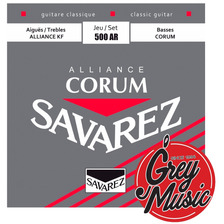 Encordado Guitarra Savarez 500 Ar Normal Alliance-corum