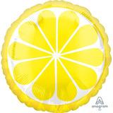 globo fruta limon 45cm desinflado apto helio