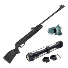 Rifle Aire Comprimido Gamo Black Shadow Potenciado Mira Zoom