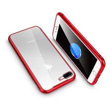 Funda Magnetica Metalica iPhone 7 8 Plus Xs Max Xr Baseglass