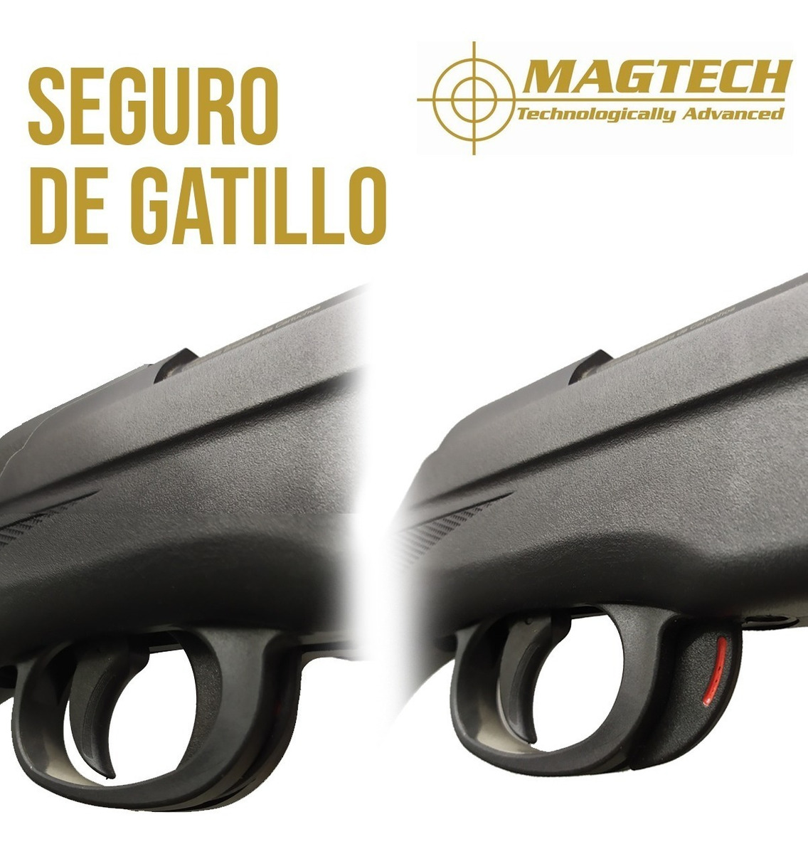 Rifle Nitro Piston Magtech N2 800 Fps 5 5 Aire Comprimido