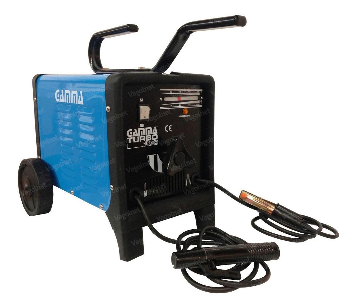 Soldadora 50-180 Amp 1 6 A 4 Mm Turbo 220 Gamma Hot Sale