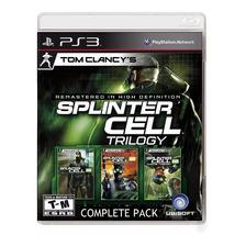 Splinter Cell Trilogy Hd Ps3 Fisico Original Sellado