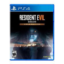 Resident Evil 7 Gold Edition Ps4 Fisico Sellado Original