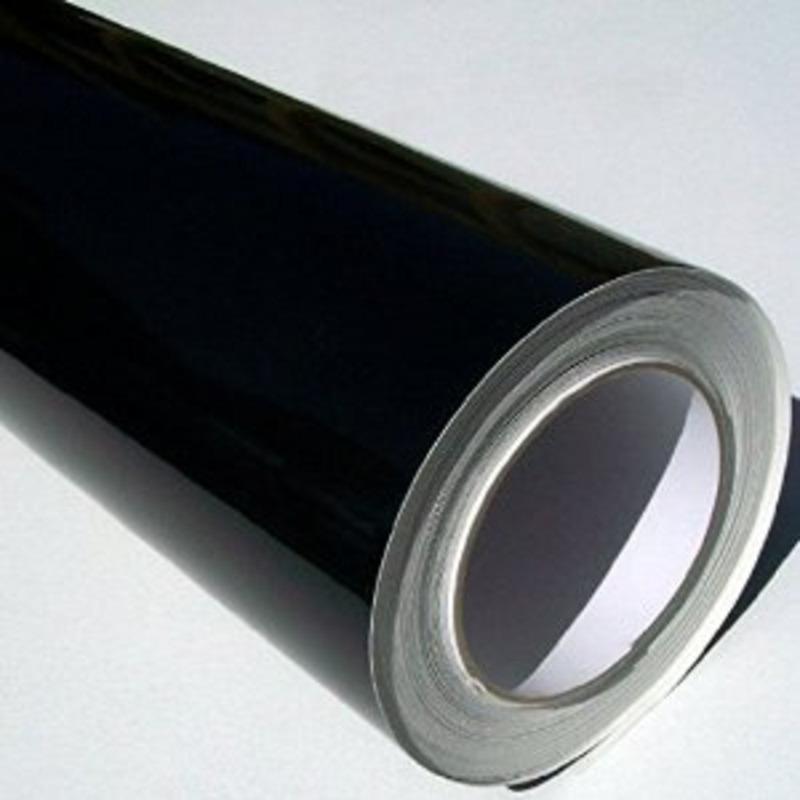 Vinil adesivo protack preto larg. 0,50 m