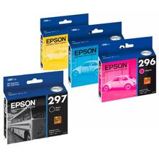 Cartuchos Epson T296 Colores + T297 8ml Originales 231 431