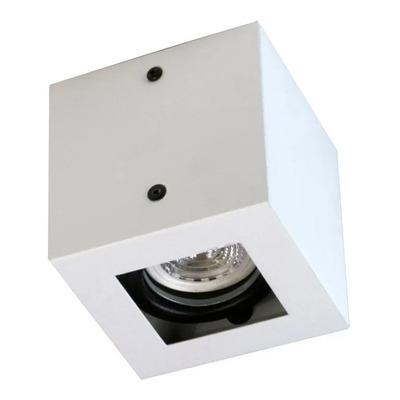 Plafon 1 Luz Con Led 7w Antideslumbrante Blanco Movil