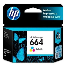 Cartucho Hp 664 Original Color Para Hp 3775 3785 4535 4675