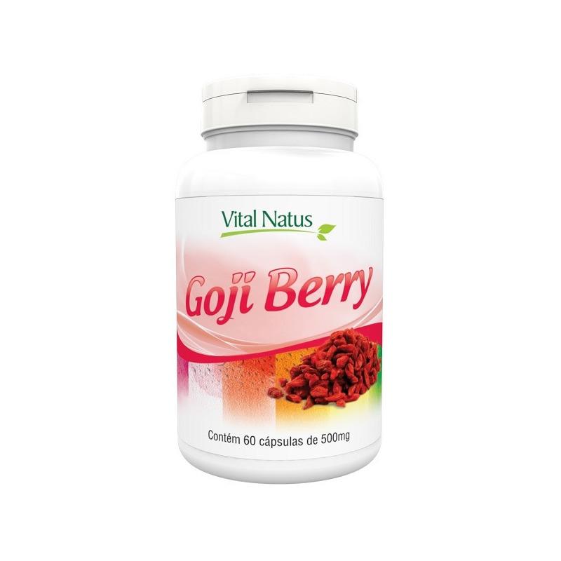 Goji Berry - 60 capsulas de 500mg - Vital Natus