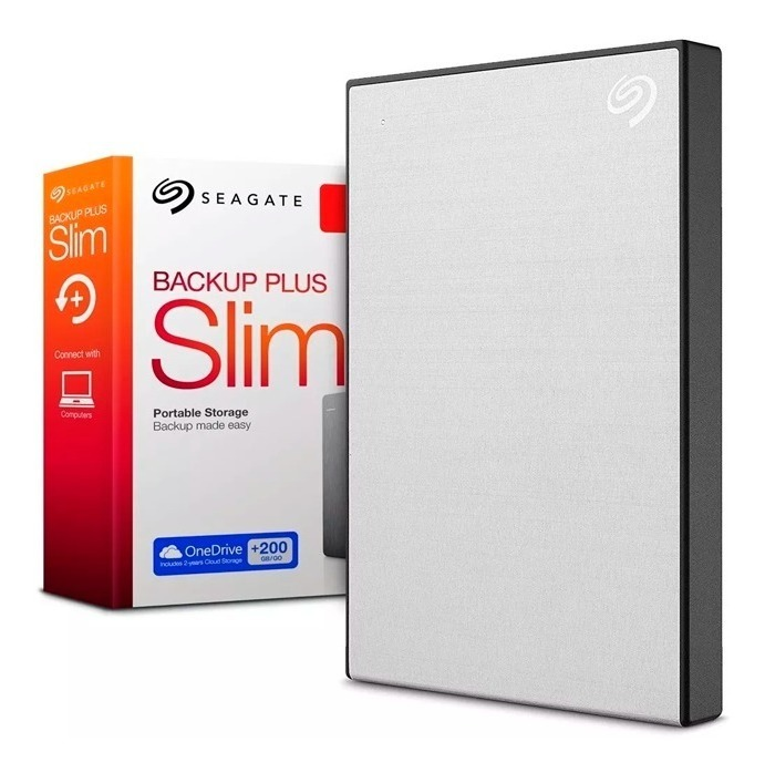Disco Rigido Externo 2tb Seagate Slim Backup Plus Usb 3.0