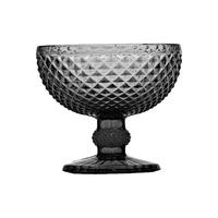 Jogo 6 Taças de Sobremesa Bico de Jaca Grey 220ml - Bon Gourmet 3106910