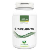 Óleo de Abacate 60 cápsulas 1g - Vital Natus