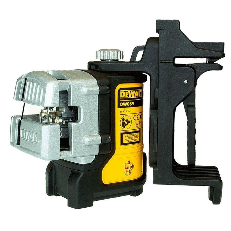 Nível a Laser Pontos em Cruz Nível Automático + Maleta e Base - DW089K - DeWalt