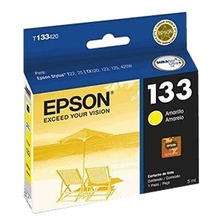 Cartucho Epson 133 Color Amarillo Original T133420