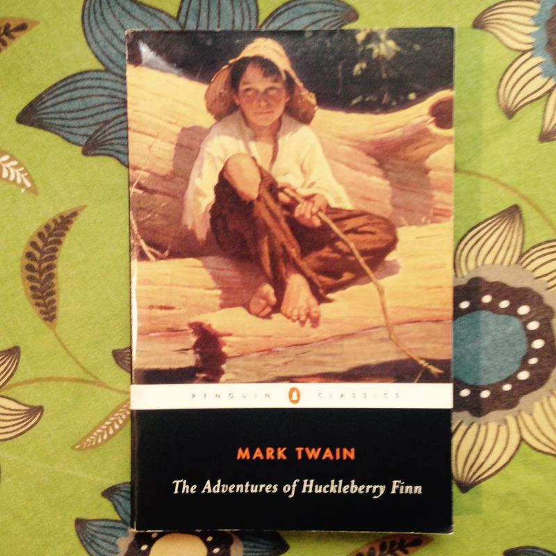 Mark Twain. THE ADVENTURES OF HUCKLEBERRY FINN.