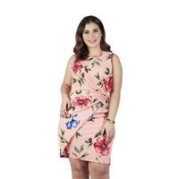 Vestido rosa multicolor  015419P
