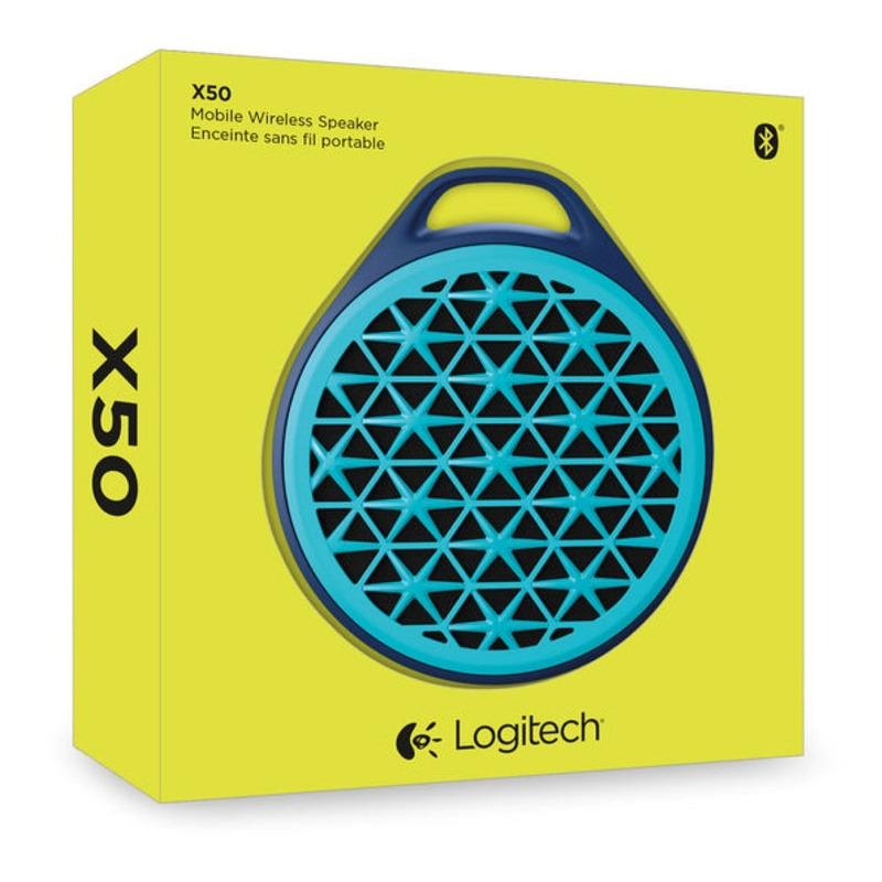 SPEAKER MOBILE BLUETOOTH X50 AZUL LOGITECH