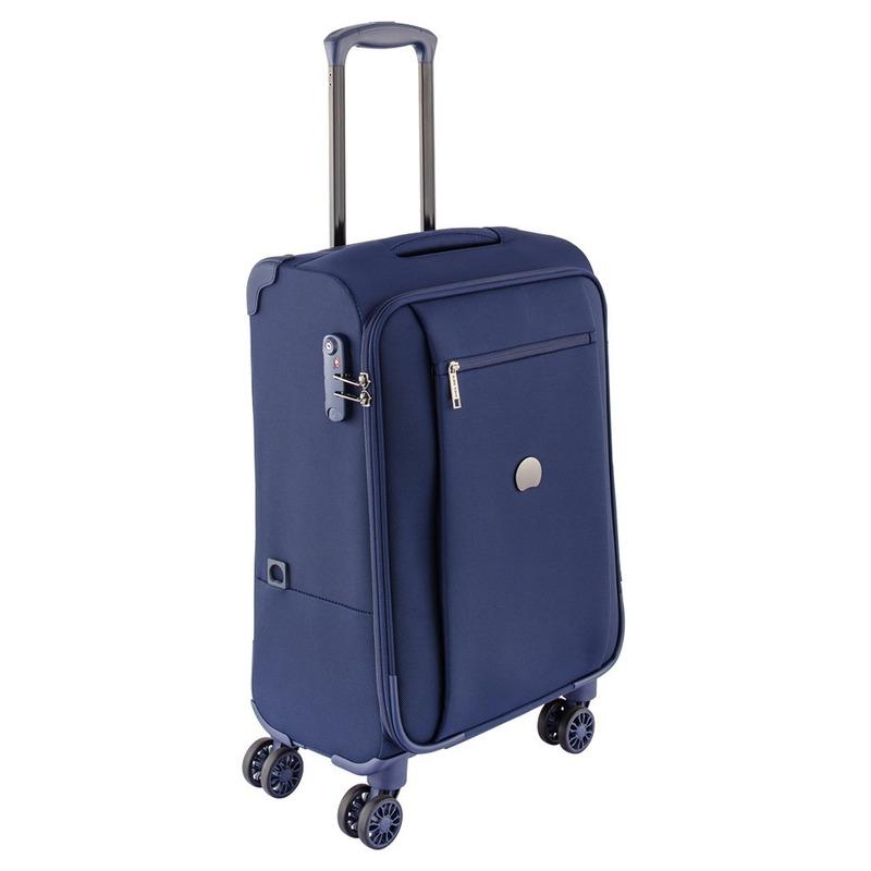 Maleta Vertical 4R/55Cm Azul Marino Soft Montmartre Pro