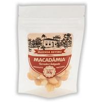 Macadamia Torrada e Salgada 50g - Fazenda Retiro
