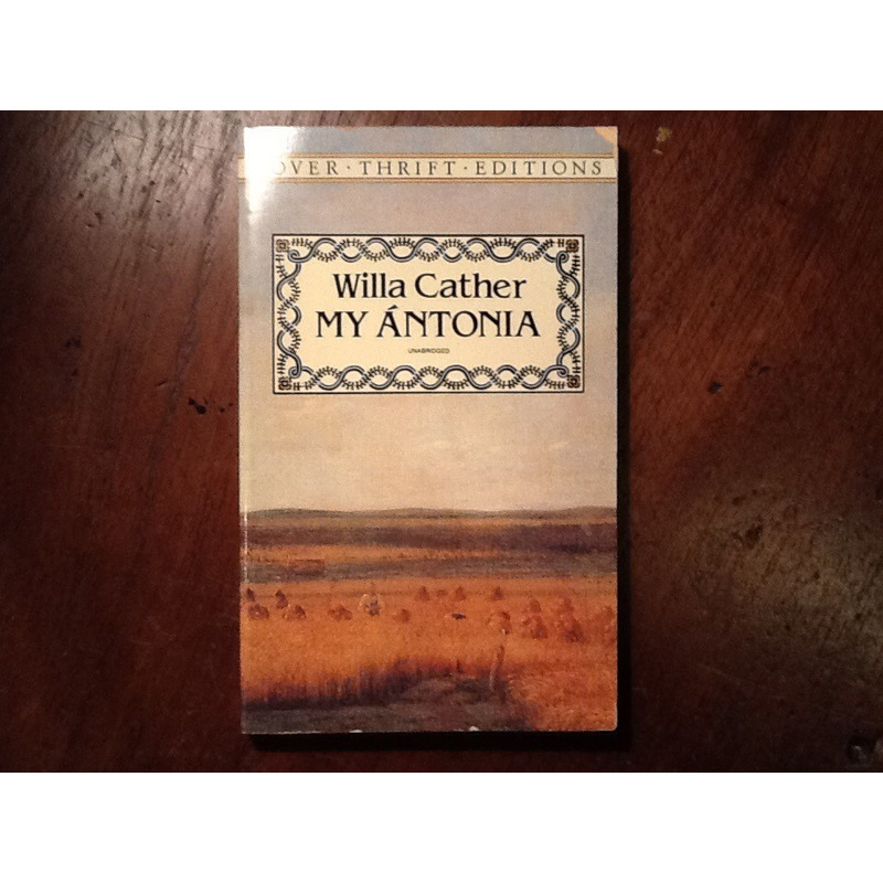 Willa Cather. MY ÁNTONIA.